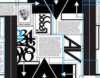 John Langdon, Herb Lubalin, Rudolph Koch Poster