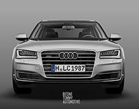 Audi A8L 2015