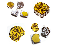 Mooncake Stamps