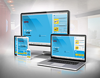 Screen Design Mobile and Desktop