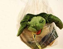 Dead Sea Turtle Stuffed Toy
