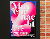 Museumnacht poster