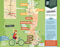Bike Route Trail Map - Tourism