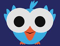 3D model- cartoon bird