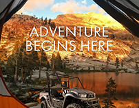 Adventure Begins Here Ad Campaign