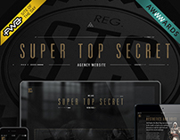 Super Top Secret Agency Site
