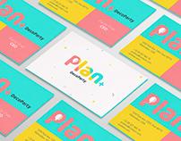 Plan+DecoParty - Visual identity