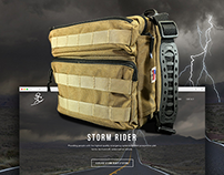Survival Gear Website Design & Product Photography