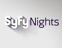 Syfy Night - Universal Network (Flyer México)