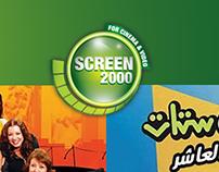 Screen 2000 Social Media
