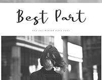 Best Part - Beauty Casual Font