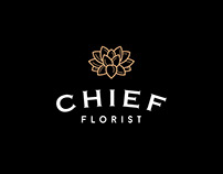 CHIEF florist. Web site for luxury flower shop