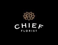 CHIEF florist. Web site for luxury flower shop