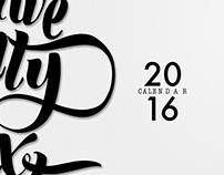 20/16 Poster Calendar
