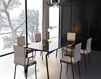 Vortex Chair&Dining Table Design