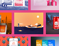 IT'S WORTH A SHOT! // 2015 Dribbble Collection