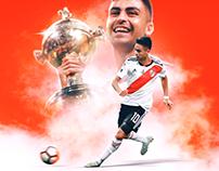 River Plate vs Boca Juniors 9/12/18 Poster