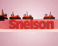 Snelson - 3D Logo Animation