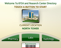 UI for King Faisal Hospital & Research Center