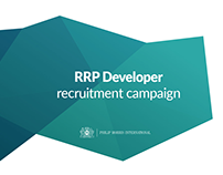 RRP Developer recruitment campaign