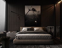 1+1 Studio Daire / Yatak Odası