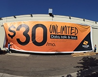 Boost Mobile OOH