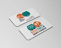 """Eduteca"" - Design Business Card"