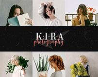 Kira Photography — Portfolio Website (UX / UI Design)