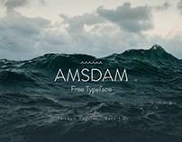 Amsdam Free Elegant Font
