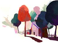 Το μυαλό μου Καλοκαίρι// color study