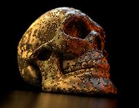 Mesmerizing skull - static image