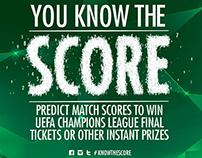 Heineken Score - UEFA