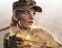 World of Tanks War Stories: Runaway Tiger Key Art