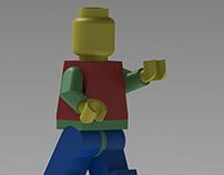 Solidworks lego man