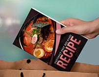 Recipe Book Cover Design