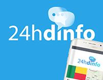 24h d'info - Logo