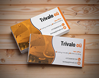 Trivalo oü Business Card