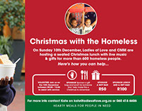 Christmas with the Homeless Online Campaign