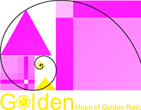 Logo: Golden Mean of Golden Ratios - Part 3