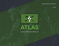 Atlas HR – Design & Prototyping for Landing Page