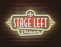 Logo for Stage Left Diner