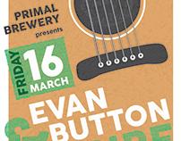 Evan Button Show Poster