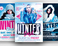 Winter Bash Flyer Bundle