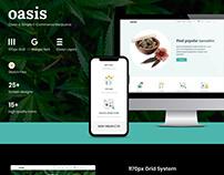 Oasis E-Commerce Sketch Template