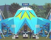 Espacios y Estructuras - YPF Lollapalooza 2019