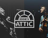 Eddie's Attic Rebrand