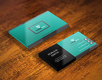 Business card for Bank Employee
