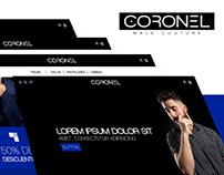 Coronel Couture Website