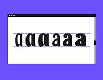 Gazette / Typeface