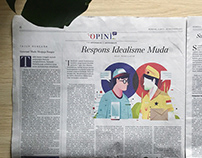 Editorial Illustration | KOMPAS OPINI